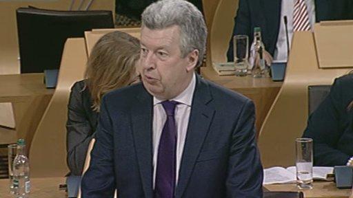 Scottish Labour justice spokesperson Lewis Macdonald