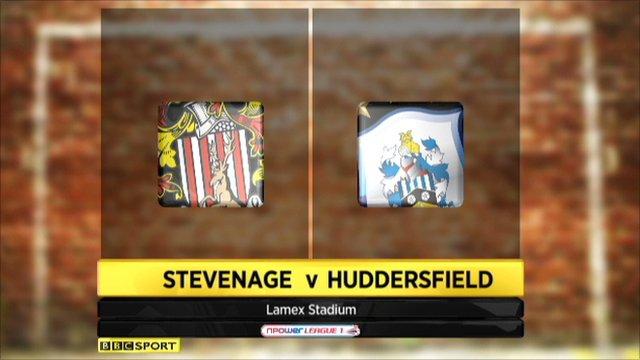 Stevenage 2-2 Huddersfield