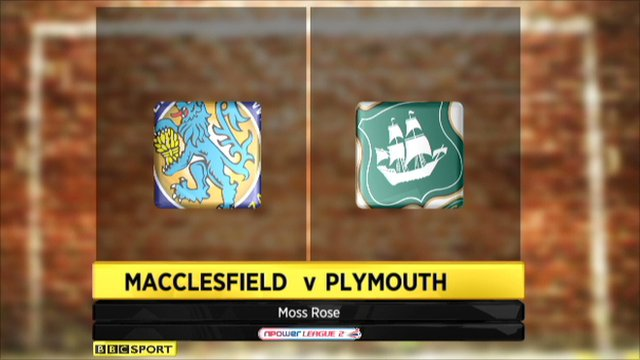 Macclesfield 1-1 Plymouth