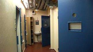 Jersey police custody cells