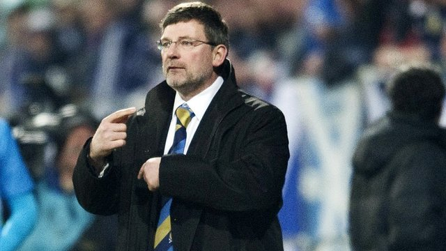 Scotland coach Craig Levein