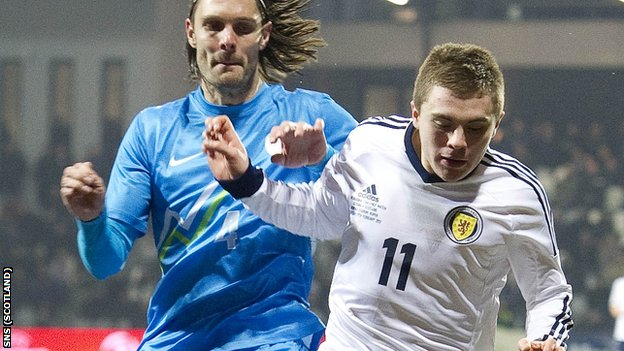 James Forrest enjoyed a fine game for Scotland