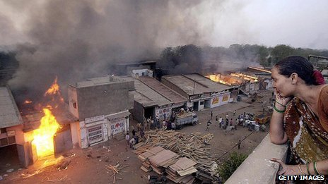 File picture of Gujarat riot