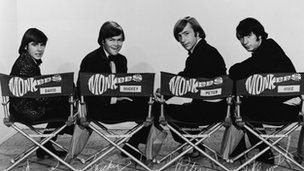 The Monkees in 1972
