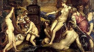 Titian&#039;s Diana and Callisto has a price tag of 50m