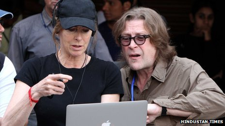 Kathryn Bigelow (left) in Chandigarh