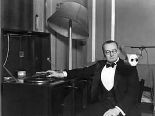 Christopher Stone, announcer for the BBC, 1931