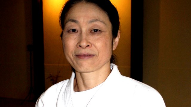 Yoko Okamoto, aikido instructor