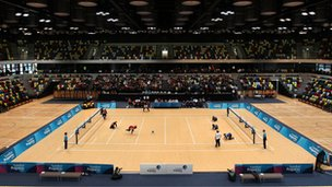 The Olympic Park's Handball Arena will become a giant newsroom