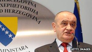 Bosnian premier Vjekoslav Bevanda