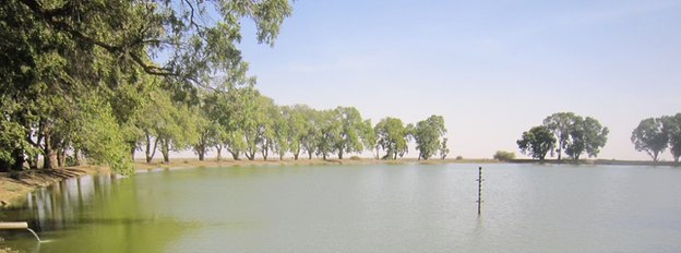 Reservoir near Fasher in Darfur, Sudan