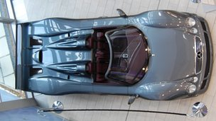 Mercedes sports car