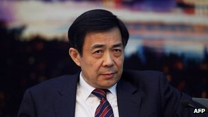 Bo Xilai, Chongqing party chief