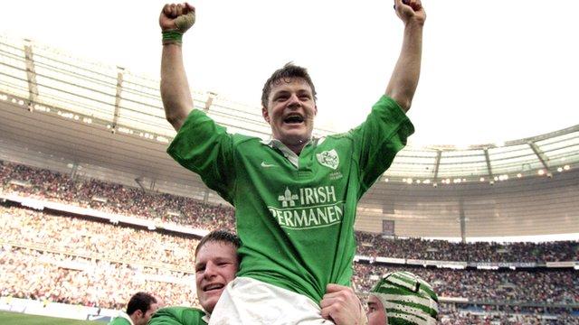 Brian O'Driscoll in 2000