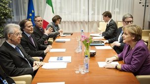 EU leaders in Brussels, 1 March