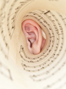 Ear and music