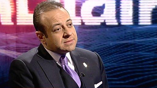Minister for EU Affairs Egemen Bagis