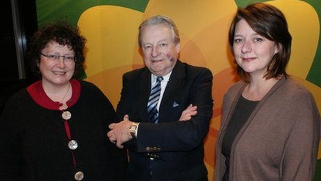 Elin Jones, Dafydd Elis-Thomas, Leanne Wood