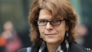 Vicky Pryce arrives at court