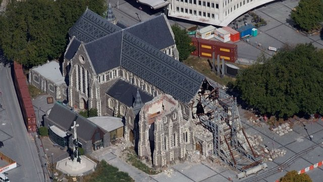 Christchurch Cathedral in New Zealand