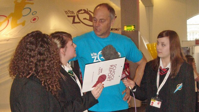 School Reporters chat with Sir Steve Redgrave to find out more about In the Zone