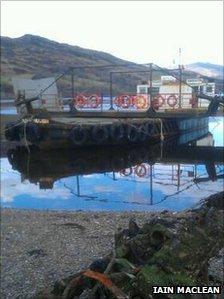 Car ferry Glenachulish