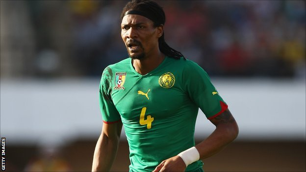 Former Cameroon captain Rigobert Song