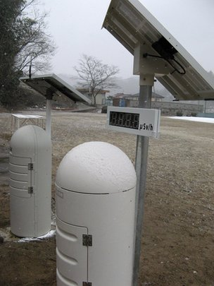 each school in Fukushima now has atmospheric radiation monitors