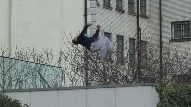 Parkour jumper