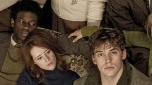 David Gyasi, Claire Foy and Sam Claflin