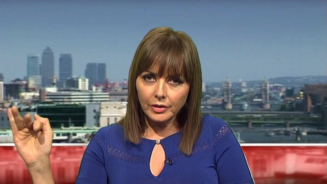 Carol Vorderman talks to BBC News.
