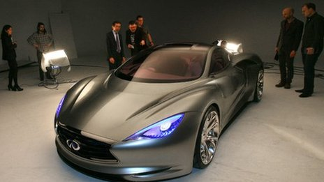 Infiniti Emerg-e