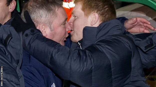 McCoist and Lennon are experiencing contrasting fortunes at their clubs