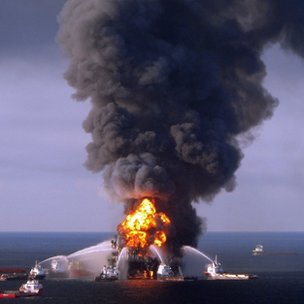 2010 file picture of Deepwater Horizon disaster