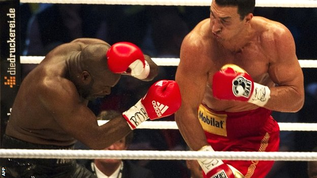 Convincing win for champion Klitschko