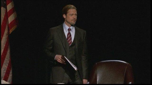 Brad Pitt in a play