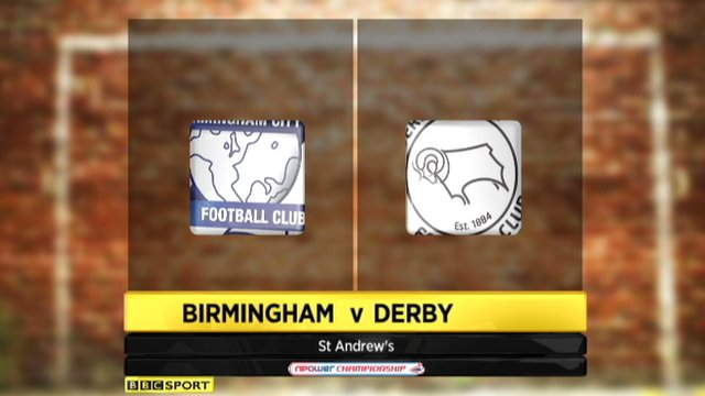 Highlights - Birmingham 2-2 Derby