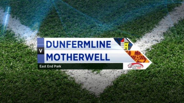 Highlights - Dunfermline 0-2 Motherwell