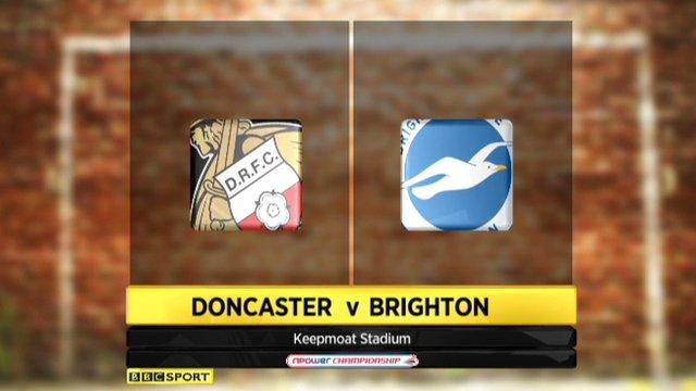 Hightlights - Doncaster 1-1 Brighton