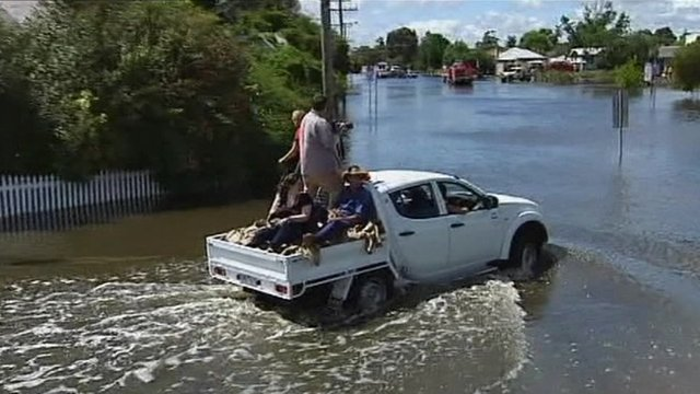 Flooding in Australia