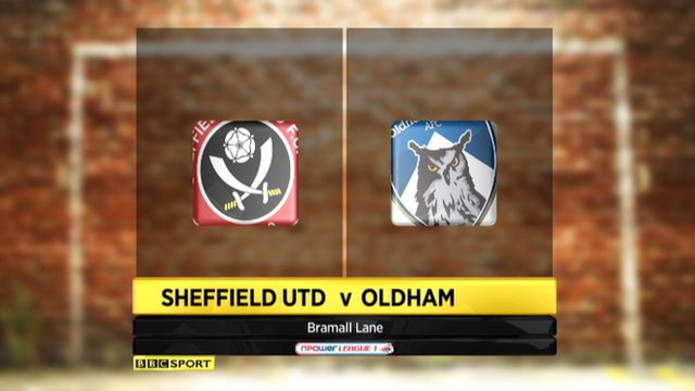 Highlights - Sheffield United 2-3 Oldham