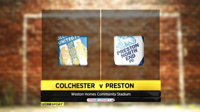 Highlights - Colchester 3-0 Preston