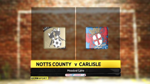 Highlights - Notts County 2-0 Carlisle