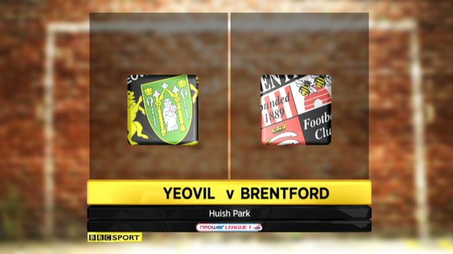 Highlights - Yeovil 2-1 Brentford