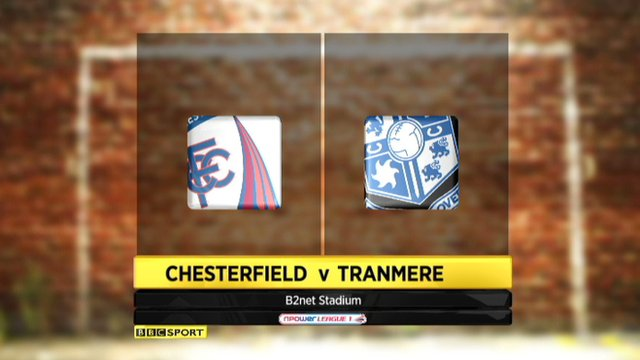 Highlights - Chesterfield 1-0 Tranmere