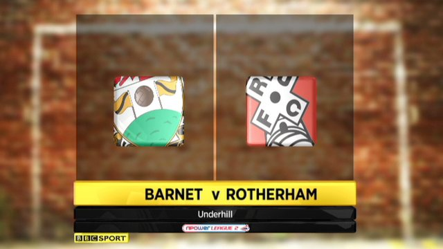Highlights - Barnet 1-1 Rotherham Utd
