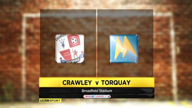 Highlights - Crawley 0-1 Torquay