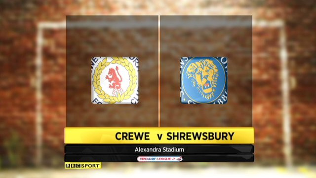 Highlights - Crewe 1-1 Shrewsbury