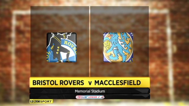 Highlights - Bristol Rovers 0-0 Macclesfield