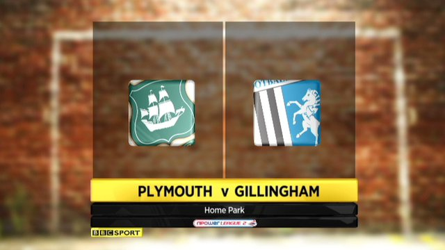 Highlights - Plymouth 0-1 Gillingham